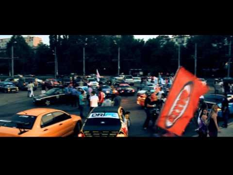 Ukrainian Drift Championship 2011.Part 2.The Parade.RIOF Production