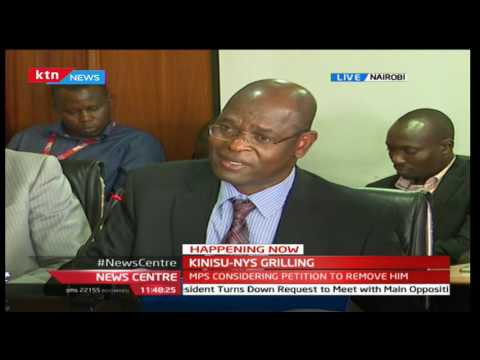 EACC Chairman Philip Kinisu: This is why they are fighting me - in the name of NYS Scandal