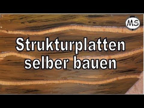 Modellbau Wände, Platten Holzoptik selber bauen Tipps und Tricks