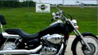 1. Review: 2007 Honda Shadow 750 Spirit Black