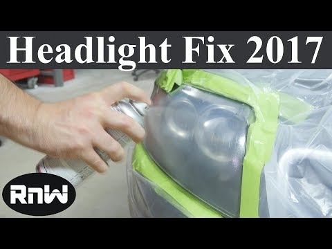 How To Fix And Restore Hazy Or Yellow Headlights - New 2017 Product