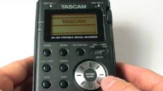 Tascam DR100: Oral History And Digital Technology
