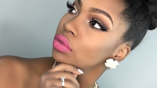 Soft Glam with Pink Lip Tutorial