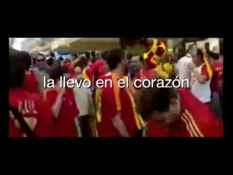 Nuevo cántico de la Selección Española de Fútbol
