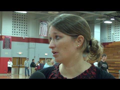 Coach Abby Pyzik-Smith Post Game vs Mary Washington