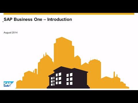 SAP Business One - opis rozwiązania
