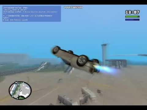 Gta sa.. Stunts - Crashes - And explosions 2! WOOP WOOP