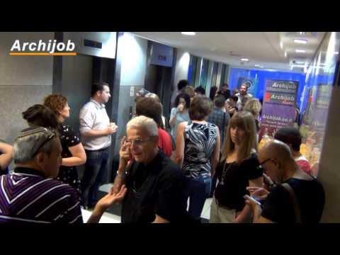 מפגש Archijob מספר 10 - תיירות אדריכלות ועיצוב - סרטון וידאו