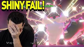 EPIC FAIL! SHINY GIGANTAMAX KINGLER! Max Raid Monday Montage! Pokemon Sword and Shield by aDrive