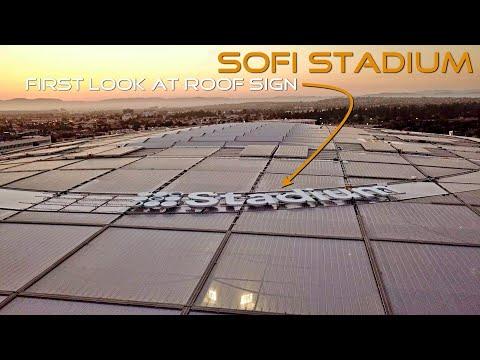 SoFi Stadium Drone Construction Progress 7-7-20