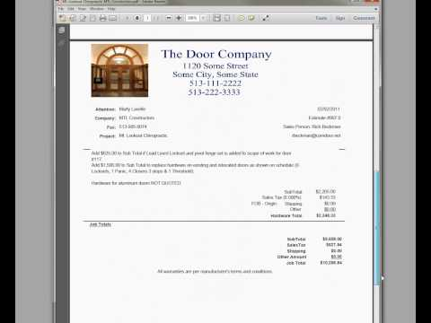 Commercial Estimating Software