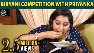 Video #Biriyani Competition with Priyanka | Fun Part 1 | Little Talks MP3, 3GP, MP4, WEBM, AVI, FLV Januari 2019