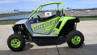1. Sale $13,199:  2017 Arctic Cat Wildcat Sport Limited Overview and Review