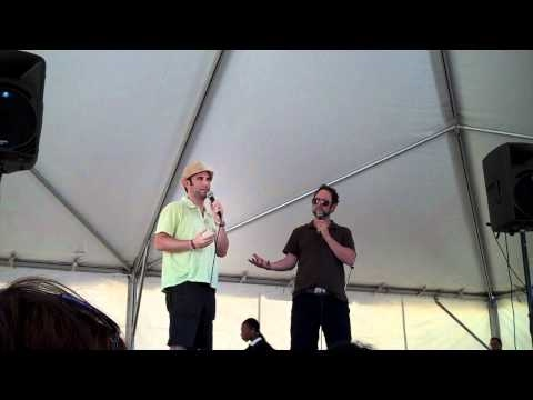 The Sklar Brothers at FYF FEST 2010-