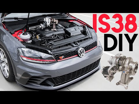 How to Install an IS38 Turbo on a MK7 (1.8t and 2.0t)