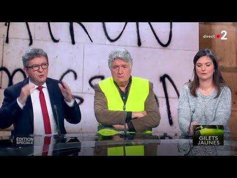 Video Spéciale Gilets jaunes - Avec JL Mélenchon, F. Ruffin, E. Todd, T. Piketty... download in MP3, 3GP, MP4, WEBM, AVI, FLV January 2017