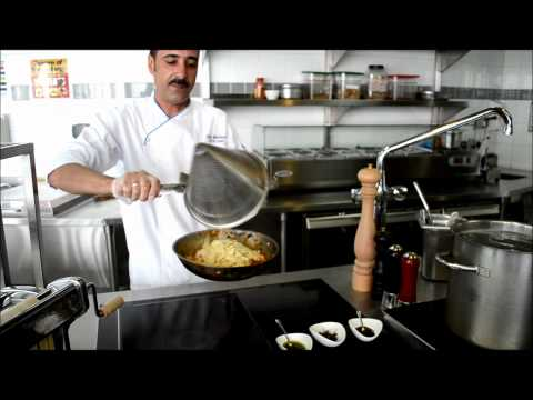 The Torch Doha Cooking Classes Homemade Papparedelle Pasta With Chef Hany