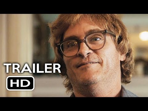 Don't Worry, He Won't Get Far on Foot Official Trailer #1 (2018) Joaquin Phoenix Biography Movie HD