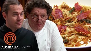 Video Marco Pierre White and Shannon Bennet Decide Who Cooked The Best Ravioli  - MasterChef World MP3, 3GP, MP4, WEBM, AVI, FLV Mei 2019