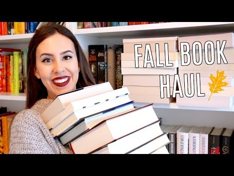 HUGE OCTOBER BOOK HAUL 2017 || Books I've Bought This Fall
