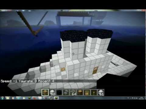 Minecraft my little ship sinking!