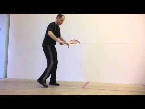 Return of Serve Squash Tip: How to Wait Squash Lesson, Squash Lesson Plans Squash Coaching