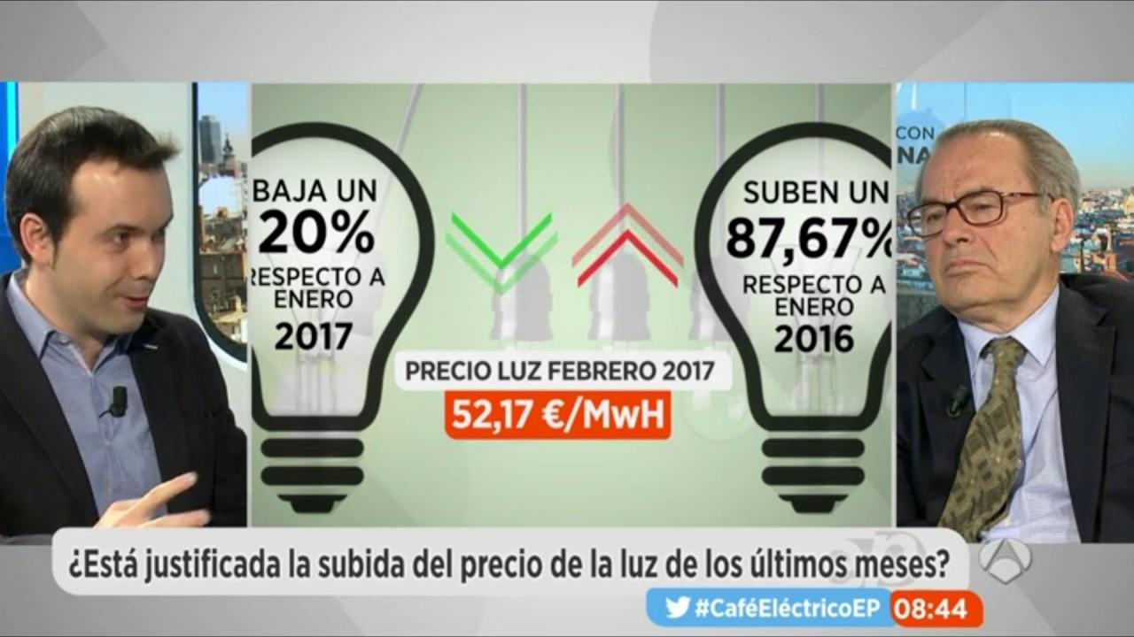 Debate sobre el sector eléctrico - 27/2/2017