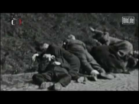 Neues Filmmaterial zeigt Hinrichtung deutscher Vertreibungsopfer (Bild.de)
