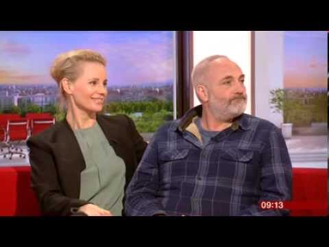 The Bridge Sofia Helin Kim Bodnia Interview BBC Breakfast 2014