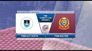 FNB Varsity Cup | UCT Ikeys vs Maties