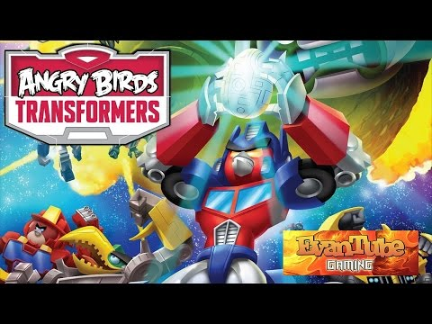 Let's Play ANGRY BIRDS TRANSFORMERS with EvanTubEHD!