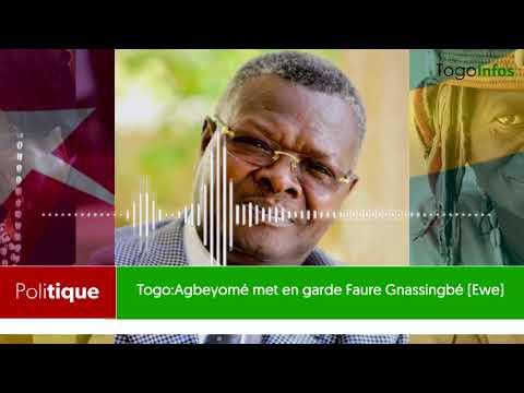 Togo: Agbeyomé Kodjo met en garde Faure Gnassingbé (EWE)