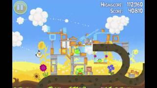 Angry Birds Seasons Summer Pignic Level 12 Walkthrough 3 Star Alternate Strategy