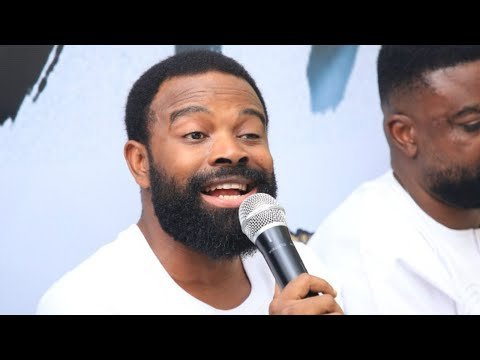Gabriel Afolayan finally appears in his brother Kunle Afolayan's movie