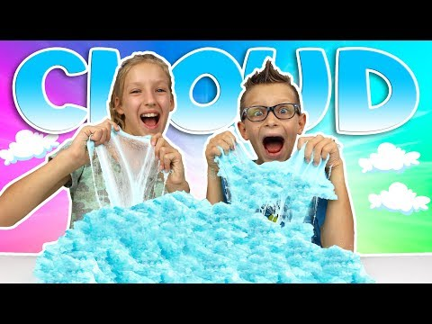 GIANT CLOUD SLIME!!!!! (видео)