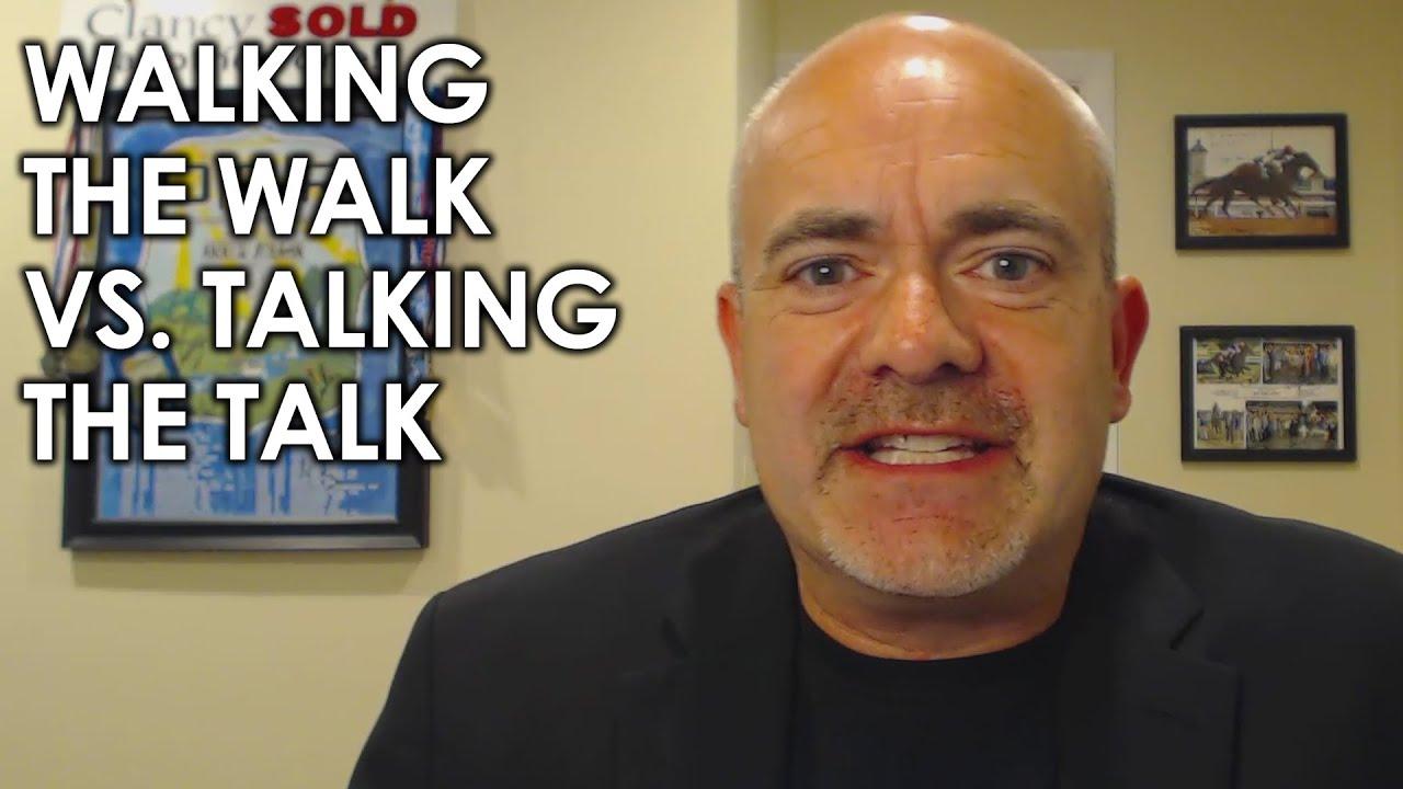 Do You Walk the Walk, or Talk the Talk?