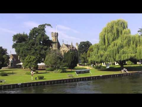 Oakley Court By Boat (Thames)