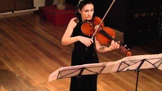 J.S.Bach, suite nº1 para viola sola. Irina Yonkova.