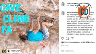 Jonathan Siegrist's HUGE Cave Climb FA   Climbing Daily Ep.1614 by EpicTV Climbing Daily