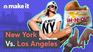 The Real Cost Of Living In New York Vs. Los Angeles