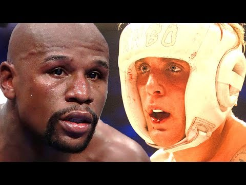 Floyd Mayweather Reacts To Jake Paul Wanting To Fight | Hollywoodlife