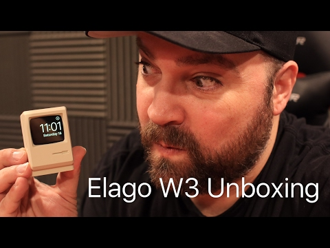 Elago W3 Apple smartwatch charging stand  review