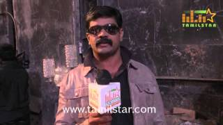 Pazhani Kumar at Vizhithiru Movie Shooting Spot