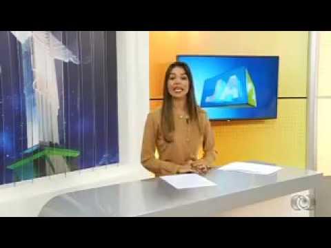Allana Gabriella na TV Anhanguera de Rio Verde-GO