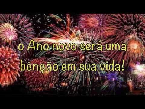Imagens de feliz ano novo - Mensagem de FELIZ ANO NOVO- Derrama Tua Misericórdia- Vera Lúcia