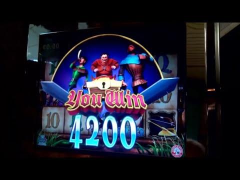 Bonus 1200€ robinhood slot machine