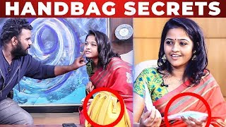 Video TAMPONS Inside Raja Rani Padma Priya Handbag | Whats Inside The Handbag | VJ Ashiq MP3, 3GP, MP4, WEBM, AVI, FLV Januari 2019