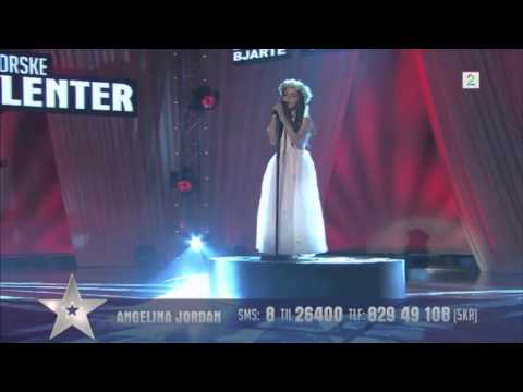 Video Amazing Angelina Jordan Astar (8 Year Old) Sings