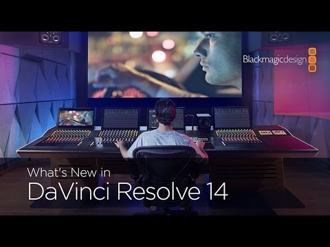 Blackmagic Design launches Resolve 14 editing software