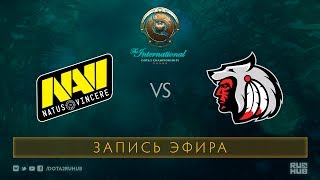 Na`Vi vs Comanche, The International 2017 Qualifiers [V1lat, GodHunt]
